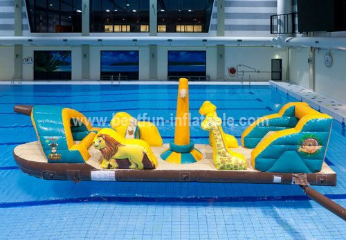 Kids floating water slide toys china