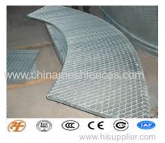 pesados quente mergulhado galvanizado aço soldado manual grelha de esgoto capa capa bem segurança do passo