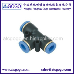 PE-6 6mm pipe fitting for gas filling machine