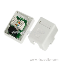 Single Port Cat. 5e RJ45 Surface Box