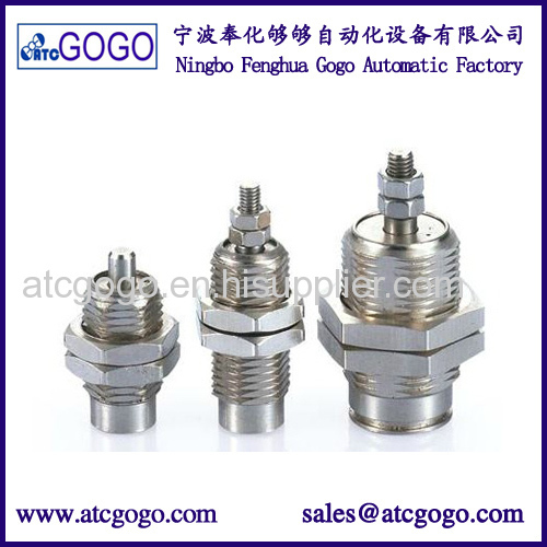 Double acting micro pneumatic pin cylinder smc type