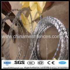 8m O.D 450mm BTO30 factory concertina razor wire