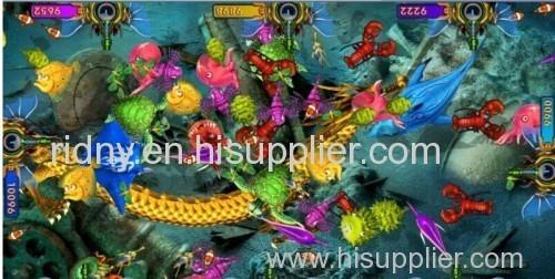 Hot Sale King of Treasure Amusement Arcade Fishing Game Machine China Manufacturer