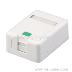 Surface Box Cat5e with Shutter