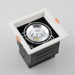 9W COB Recessed led downlights