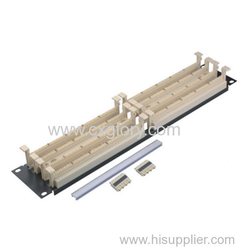 """19"""" Rack Mounted 200 Pairs Cable Block"""