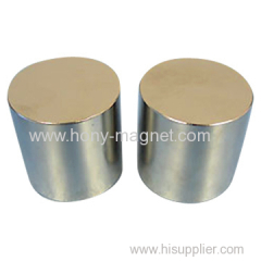 Sintered neodymium strong disc permanent magnet
