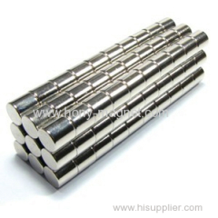 Rare earth flat disc neodymium magnets