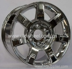CADILLAC Replica alloy wheel in chrome finish