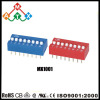 Slide Type 2.54mm Red&Blue DIP Switch