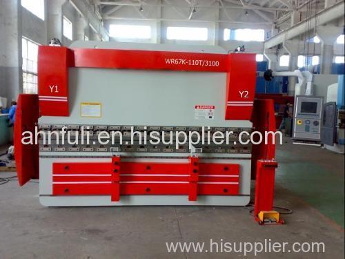 Hydraulic CNC Stainless Steel Bending Machine stainless press brake