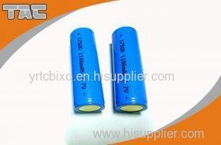 High Energy Density 3.7v Lithium Ion Cylindrica Battery LIR 17500 1100mAh Energy Type