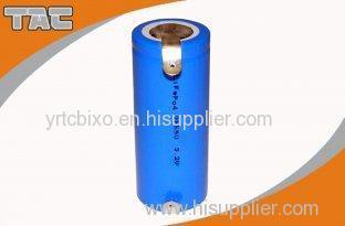 Energy Density Cylindrical 3.2V LiFePO4 Battery 26650P 2400mAh Power Type