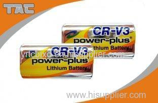 Stable operating voltage and current 3.0V CRV3 3000mAh Li-Mn Battery for Utility meter