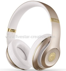 Beats Studio 2.0 V2 Over-the-Ear Headphones With Control Talk Champagne Gold