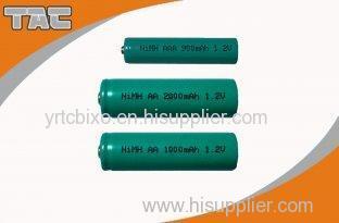 High Temperature 1800mAh Ni MH Nickel Metal Hydride Rechargeable Batteries