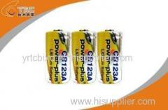 3.0V CR123A 1300mAh Primary Lithium Li-MnO2 Battery High Energy Density