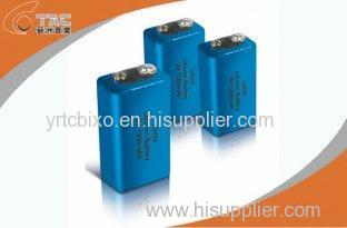 9V Primary Lithium Li-MnO2 Battery 1200mAh for Medical Devices with High energy density