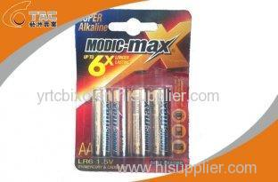 Modic-max Brand Alkaline Battery LR6/AA 1.5V for Test Meter