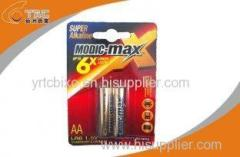 Alkaline Battery LR6/AA 1.5V Dry Battery Modic-max Brand for Test Meter
