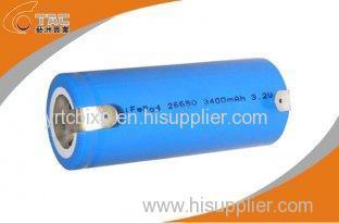 High Capacity LiFePo4 26650 3300mAh 3.2V Power Tool Rechargeable Batteries