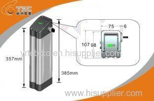 Light Weight Li-Ion Phosphate Electric Bike Battery Pack with Aluminum Shell