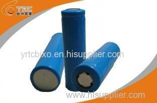 High Capacity Lithium Ion Phosphate Cylindrical 3.2v LiFePO4 Battery 1100 / 1300 / 1500mAh