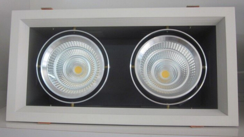 18W COB LED Recessed Grille Downlights for shop