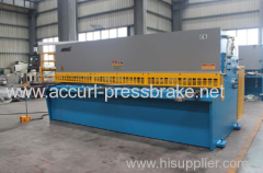 4mm Thickness 2500mm Length Cutting Machine