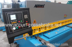 AccurL aluminium shearing machine