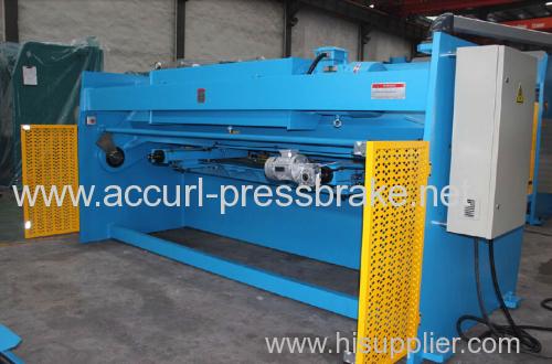 4000mm length metal sheet shearing machine