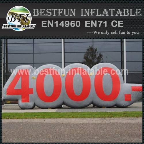 Inflatable cartoon decorative Logo