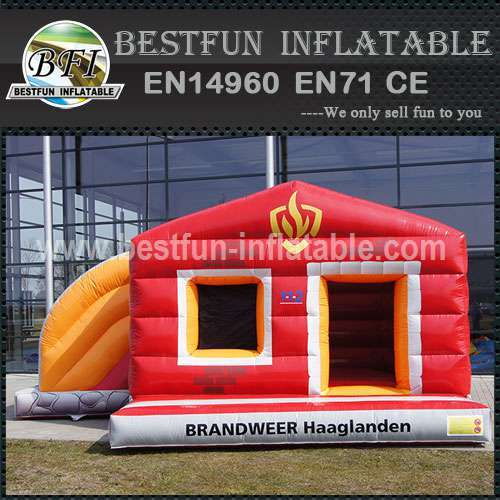 Zoo park inflatable bouncy slide