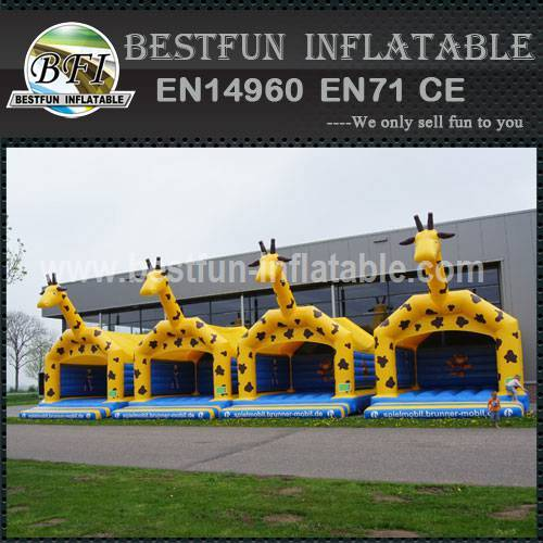 Carnival party inflatable bounce house