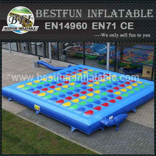 Interactive PVC inflatable twister game