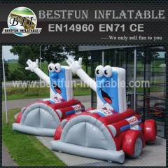 Adevertising inflatable cartoon cat