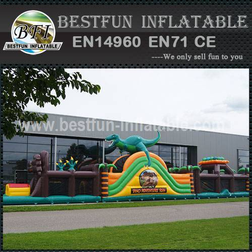 Inflatable obstable course tunnel