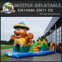 Factory price inflatable obstable course