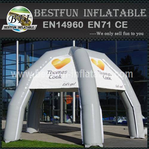 Inflatable 5 legs tent