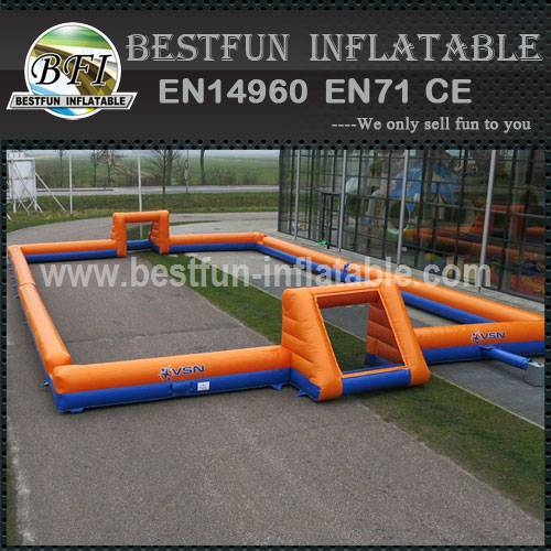 Outdoor inflatable interactive games
