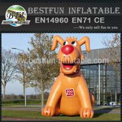 Adevertising inflatable cartoon dog