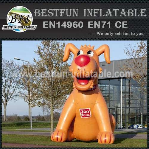 Adevertising inflatable cartoon dog