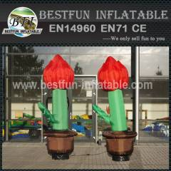 Active cartoon inflatable flower