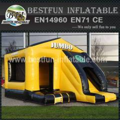 Wonderful inflatable bouncy slide combo