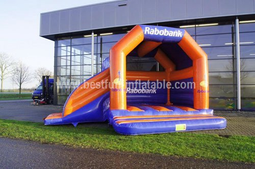 Bounce house slide games