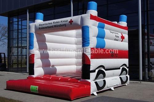 Bouncy castle ambulance custom