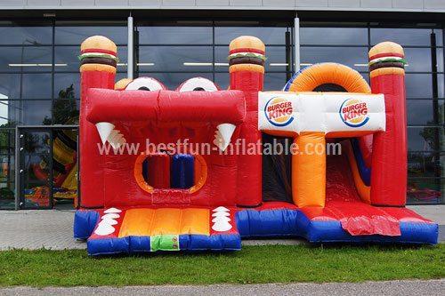 Bouncy castle Burgerking multiplay measure