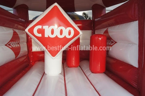 Bouncy castle C1000 measure