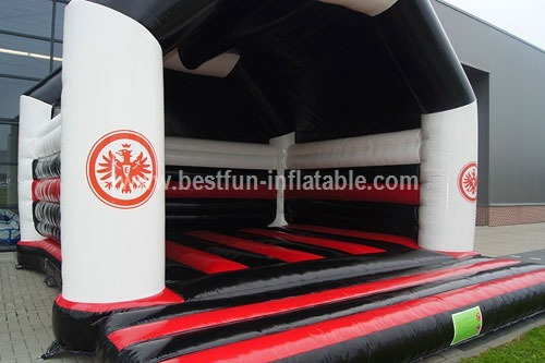 Bouncy castle Eintracht Frankfurtsur measure