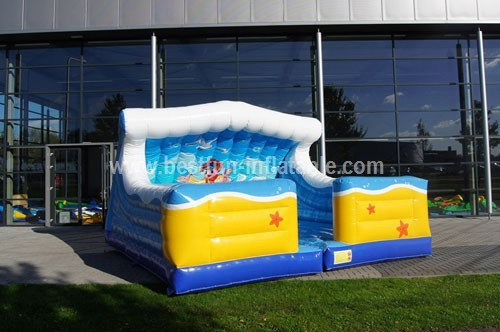 Bouncy castle Rodeo custom carpets